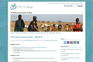 monitoring south sudan